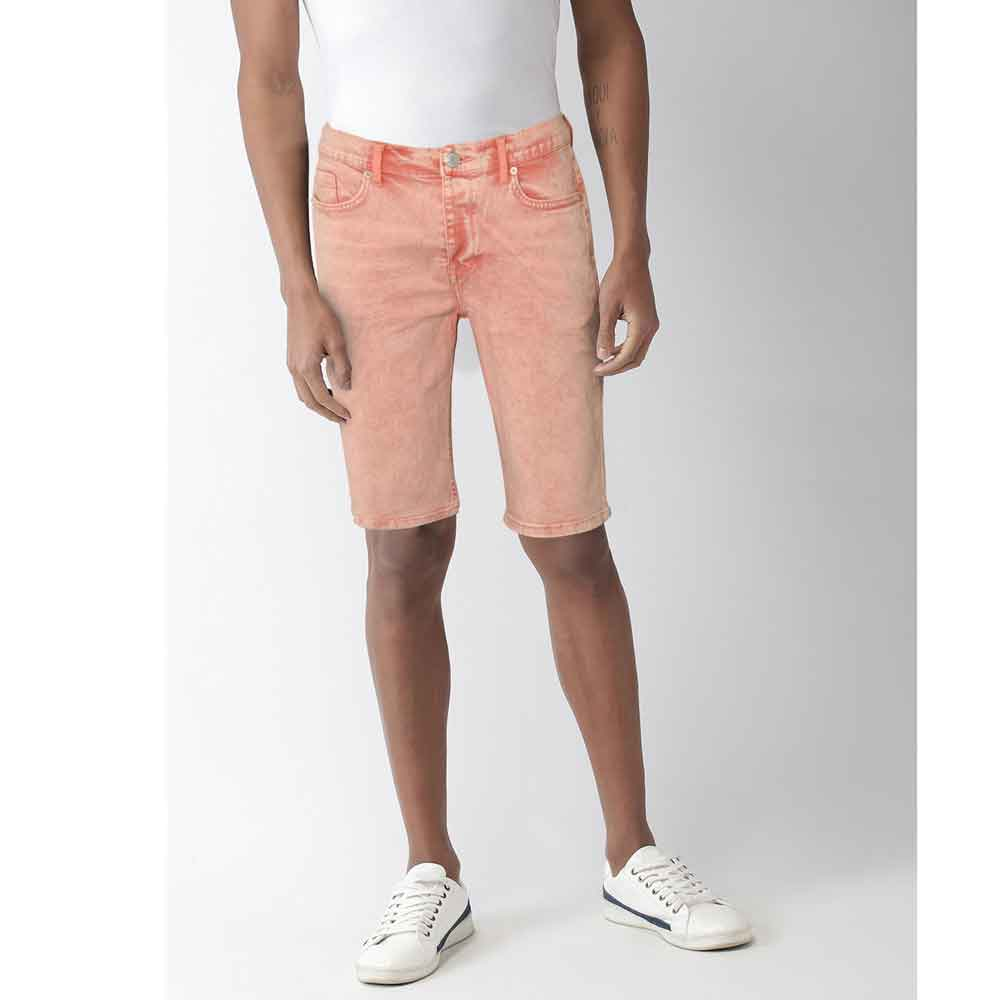 DNM & Co Men's Jacarei Denim Shorts Men's Shorts SRK Pink 28 20