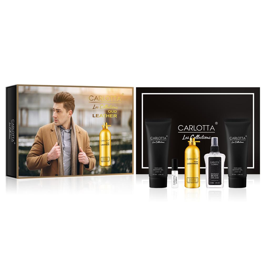 Men's Carlotta Les Collections OUd Leather Perfume Set Inspired by 'Montale Aoud Leather, 2009' Health & Beauty Sunshine China