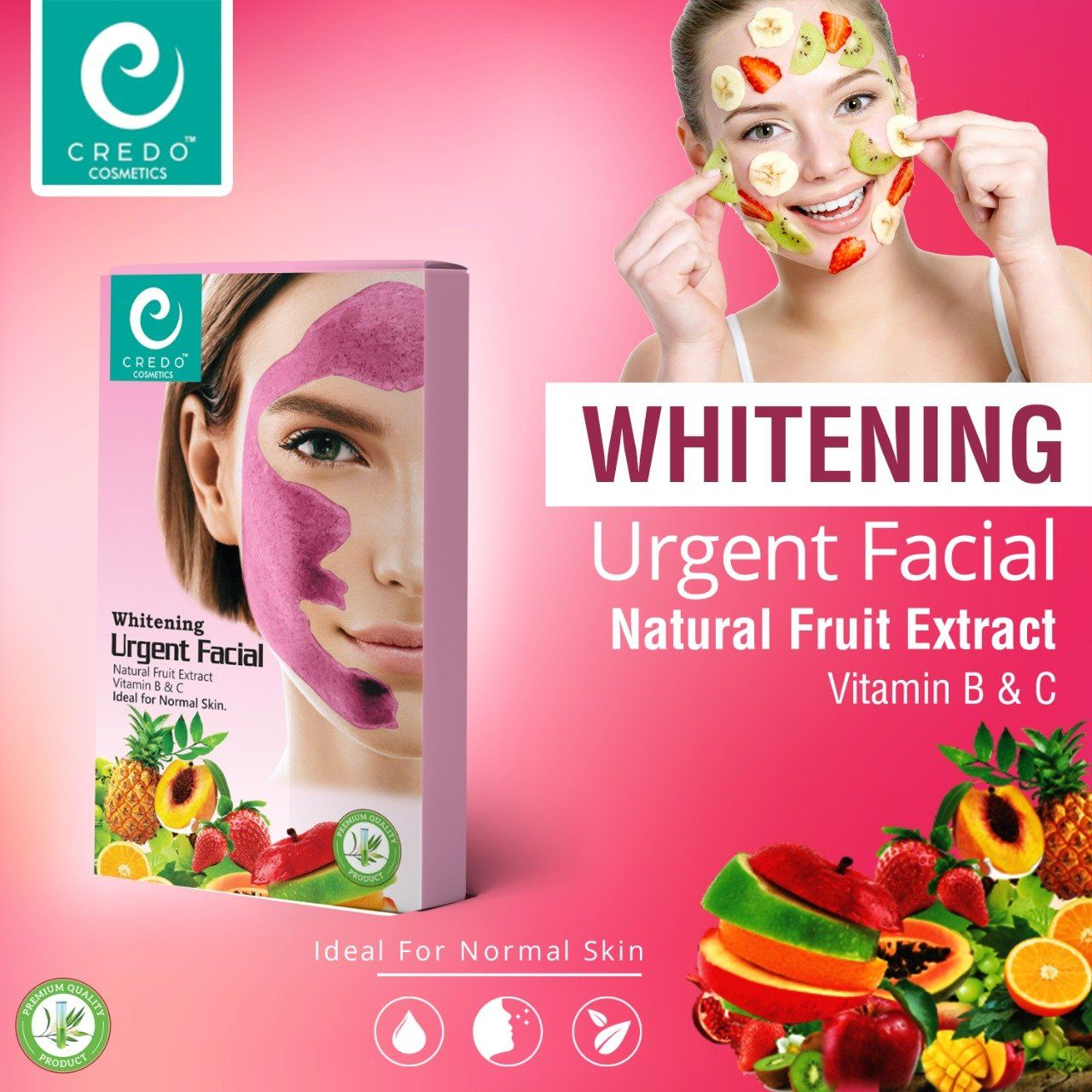 Credo Whitening Urgent Facial Health & Beauty Credo Cosmetics