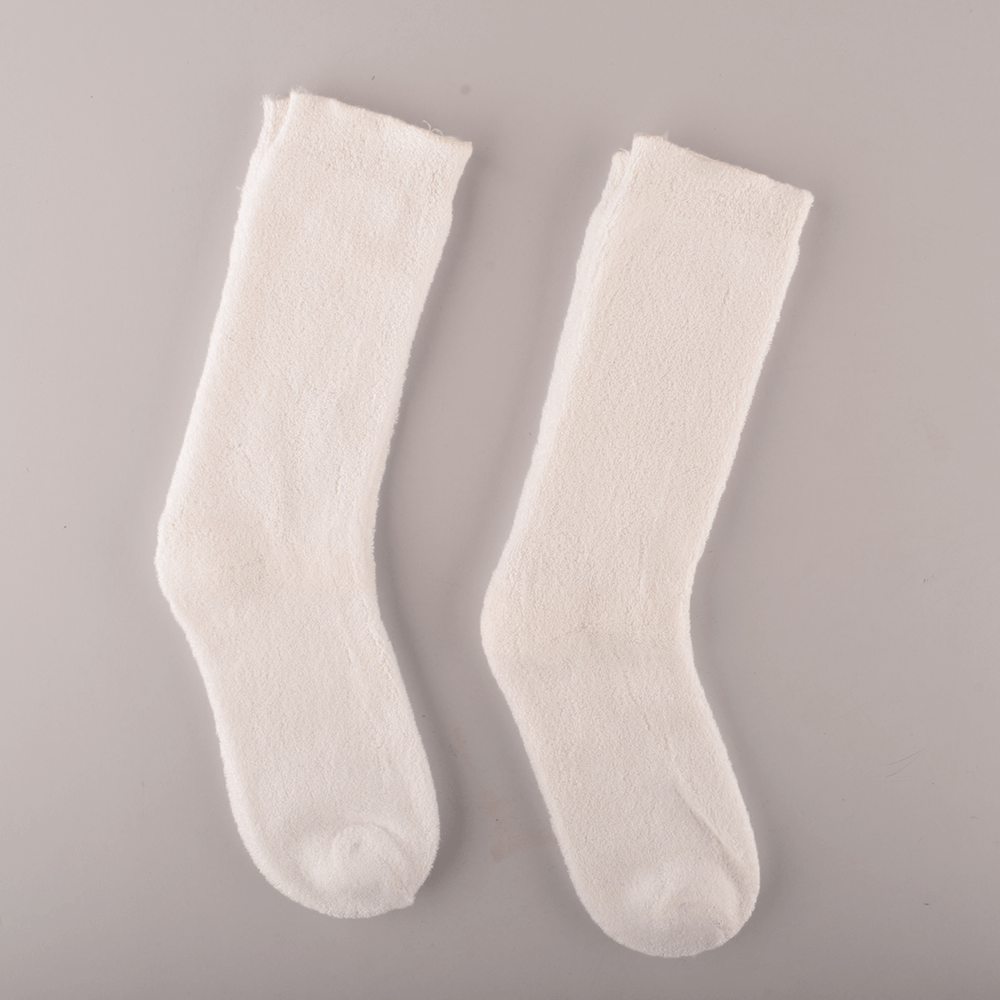Polo Republica Kid's 33-29A20 2 Pair Crew Socks Socks RKI White EUR 26-28