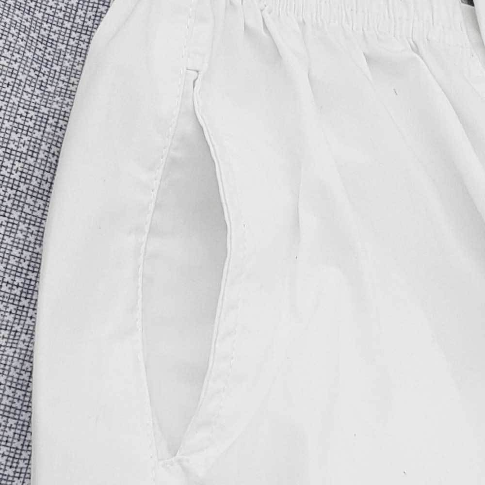 Boy's Pure White Traditional Trouser Boy's Trousers YTC