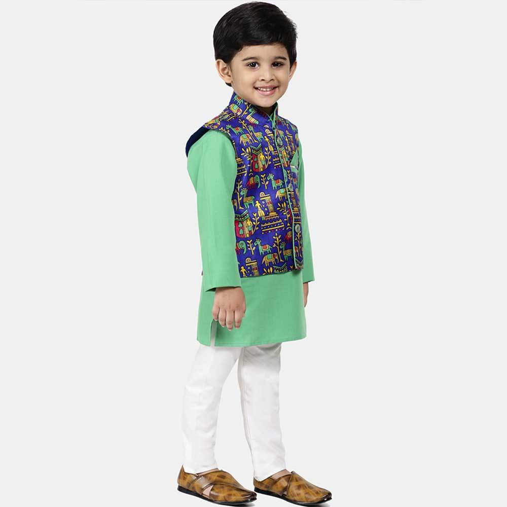 Boy's Pure White Traditional Trouser Boy's Trousers YTC 3-4 Years