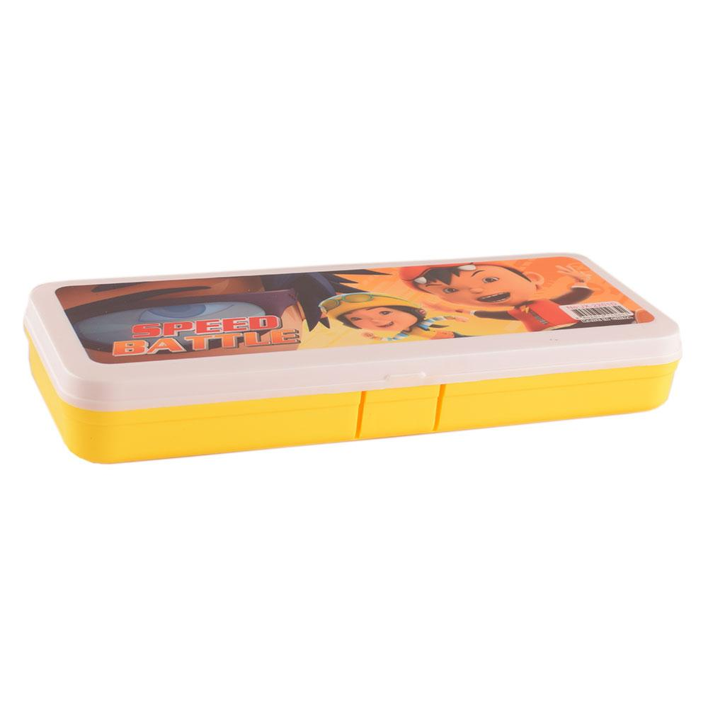 ANF Kid's Speed Battle Stationary Pencil Box Stationary & General Accessories ANF Yellow