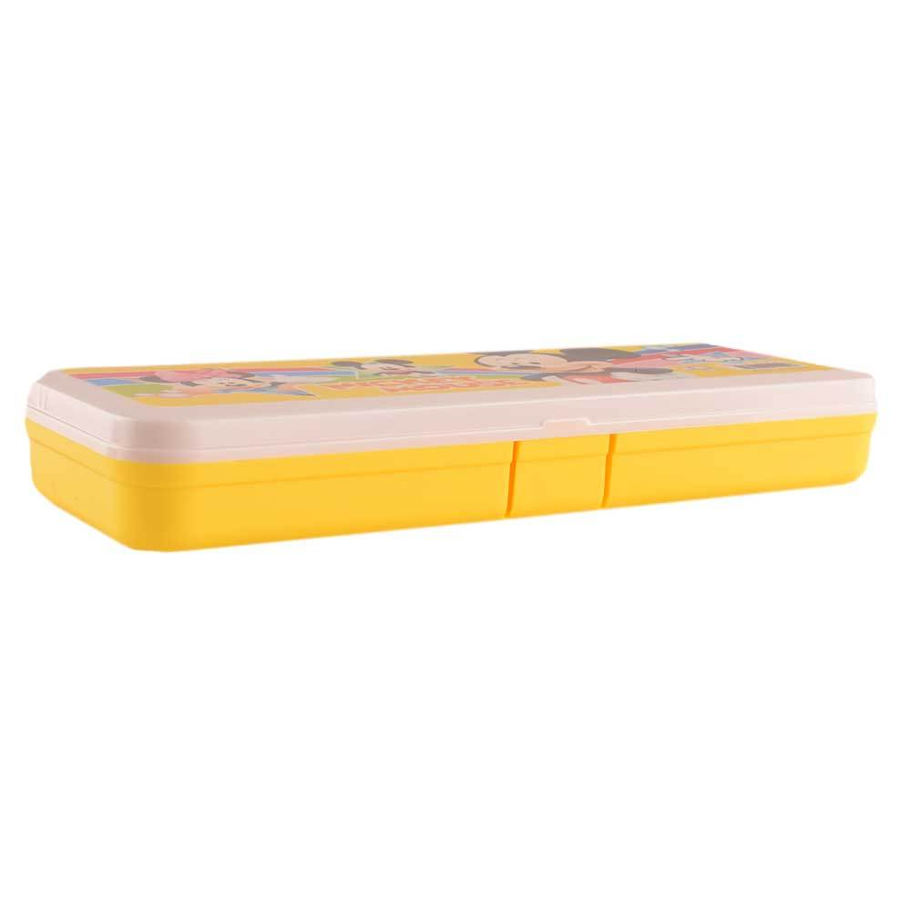 ANF Kid's Mickey Mouse Stationary Pencil Box Stationary & General Accessories ANF Yellow