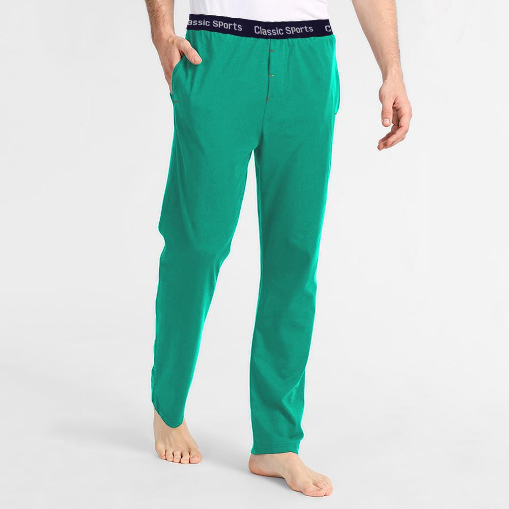 Polo Republica Men's 19-31A20 Pique Casual Lounge Pants Men's Sleep Wear Polo Republica Classic Sports Turquoise S