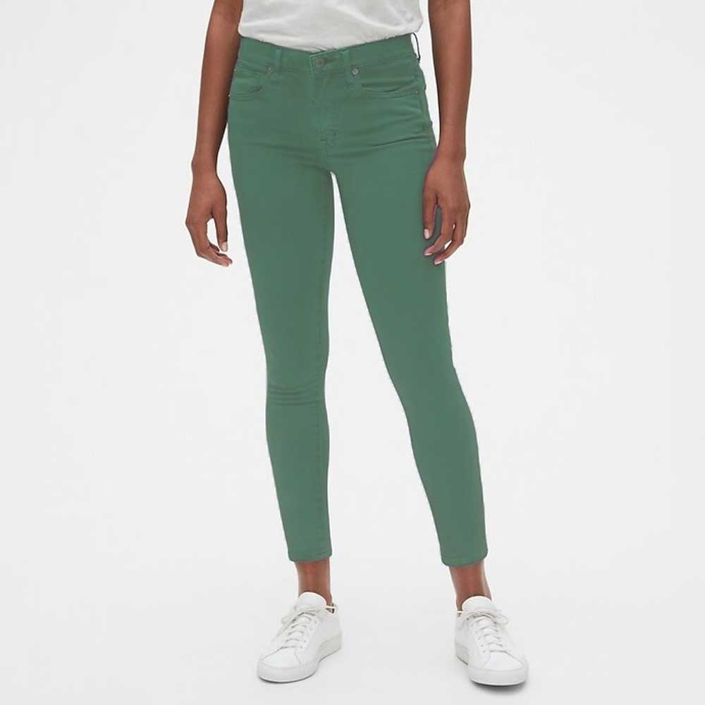 GAP Women's Joffrey Slim Fit Denim Women's Denim SNR Sea Green 24 26