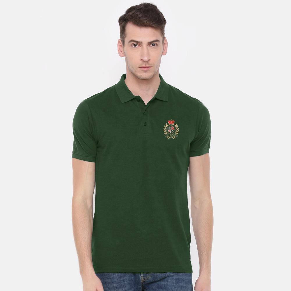 Polo Republica Men's EST Crest Polo Shirt Men's Polo Shirt Polo Republica