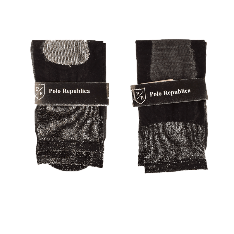 Polo Republica Women's Skinny Pack Of 2 Crew Socks Socks RKI
