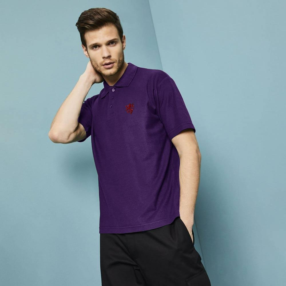 SJ Inglewood Men's Embroidered Polo Shirt Men's Polo Shirt Image
