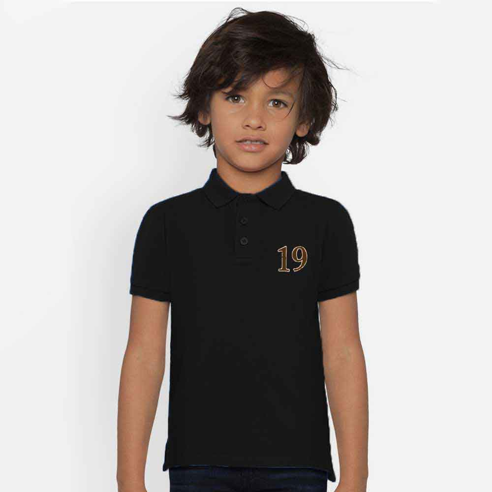 Polo Republica Boy's Mafra Polo Shirt Boy's Polo Shirt Image Black 0