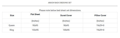Araish Verdant Printed 6 Pcs Bedding Set