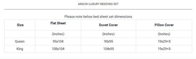 Araish Aztec Embroidered 6 Pcs Bedding Set
