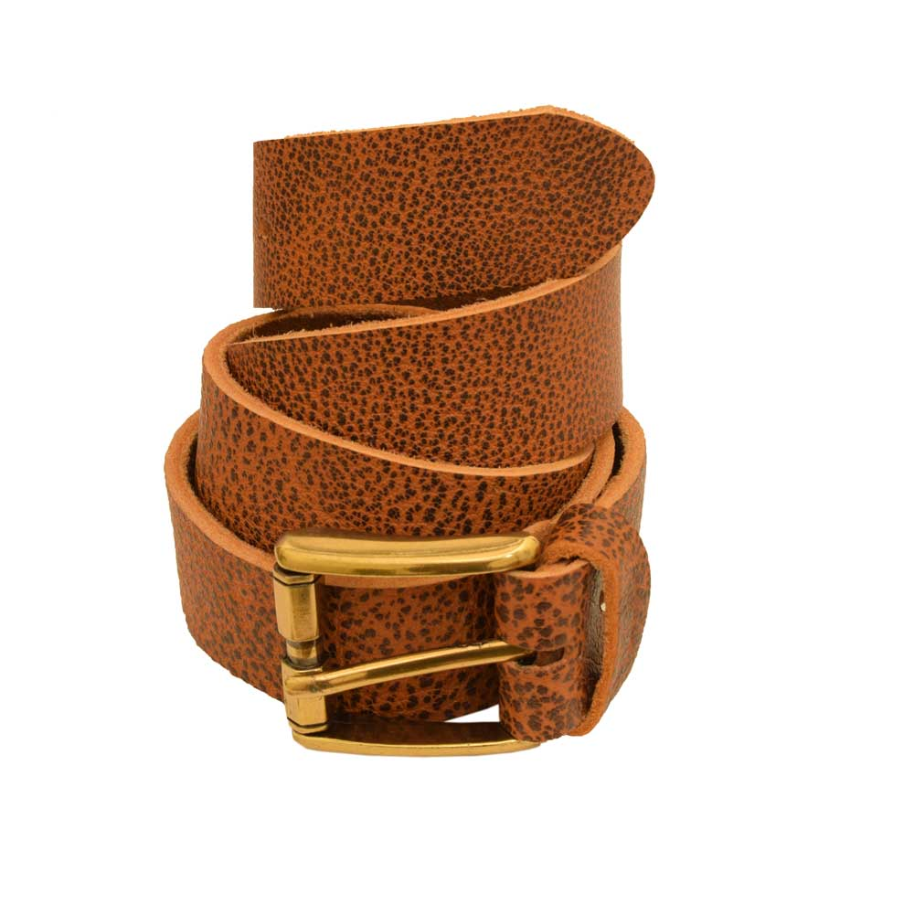 Men's Baxter Genuine Leather Belt Men's Belt LNL Golden 30-32