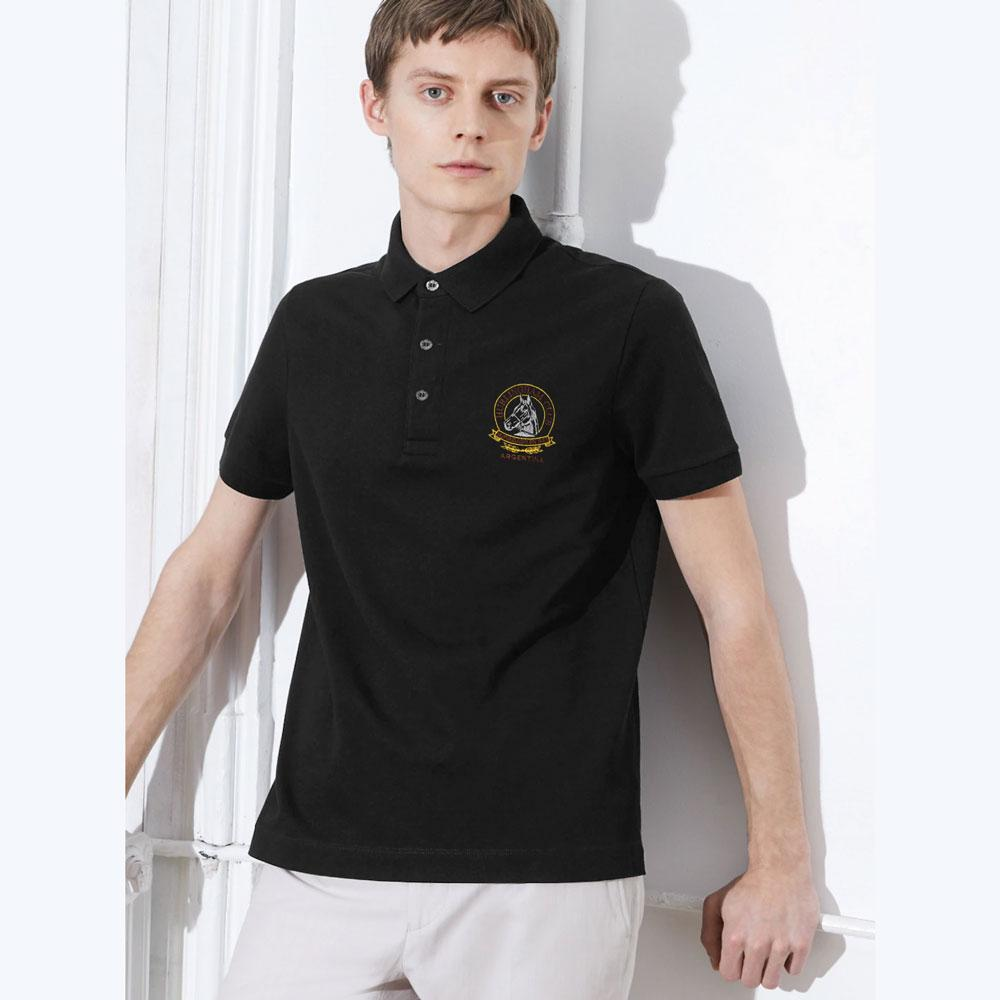 Men's Hurling Ham Club Embroidered Polo Shirt Men's Polo Shirt Image