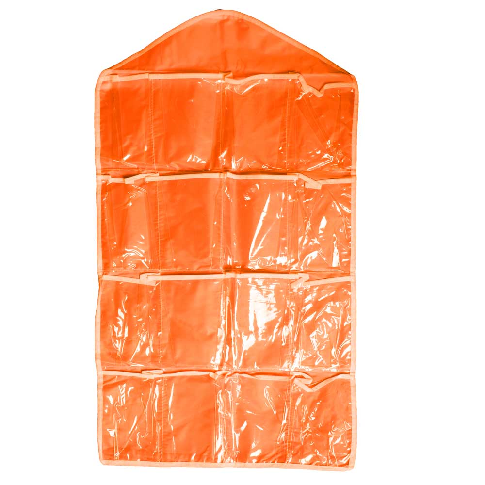 Naho Multi-functional 16 Pockets Hanging Storage Bag Storage Bag Sunshine China Orange