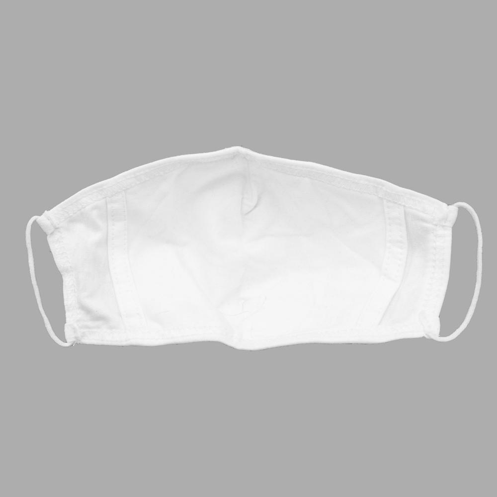 Unisex Anti-Dust Double Fabric White Reusable Mask Face Mask Image