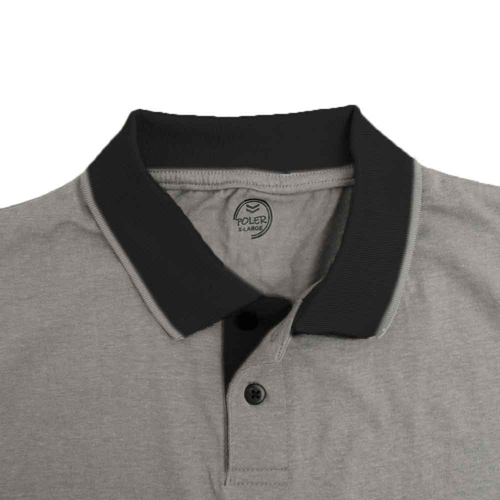 Poler Men's Contrast Panel Polo Shirt Men's Polo Shirt IBT