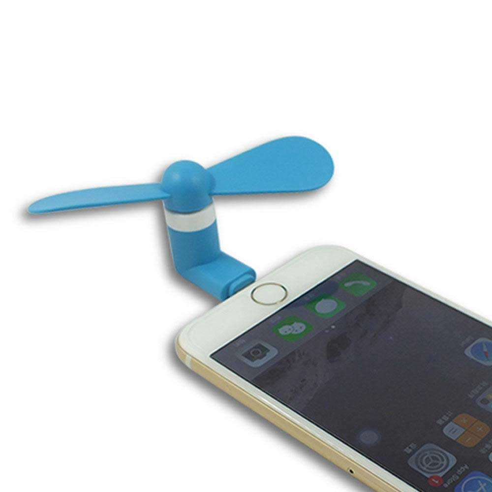 NBE iPhone Compatible Portable Mini USB Fan Mobile Accessories NB Enterprises