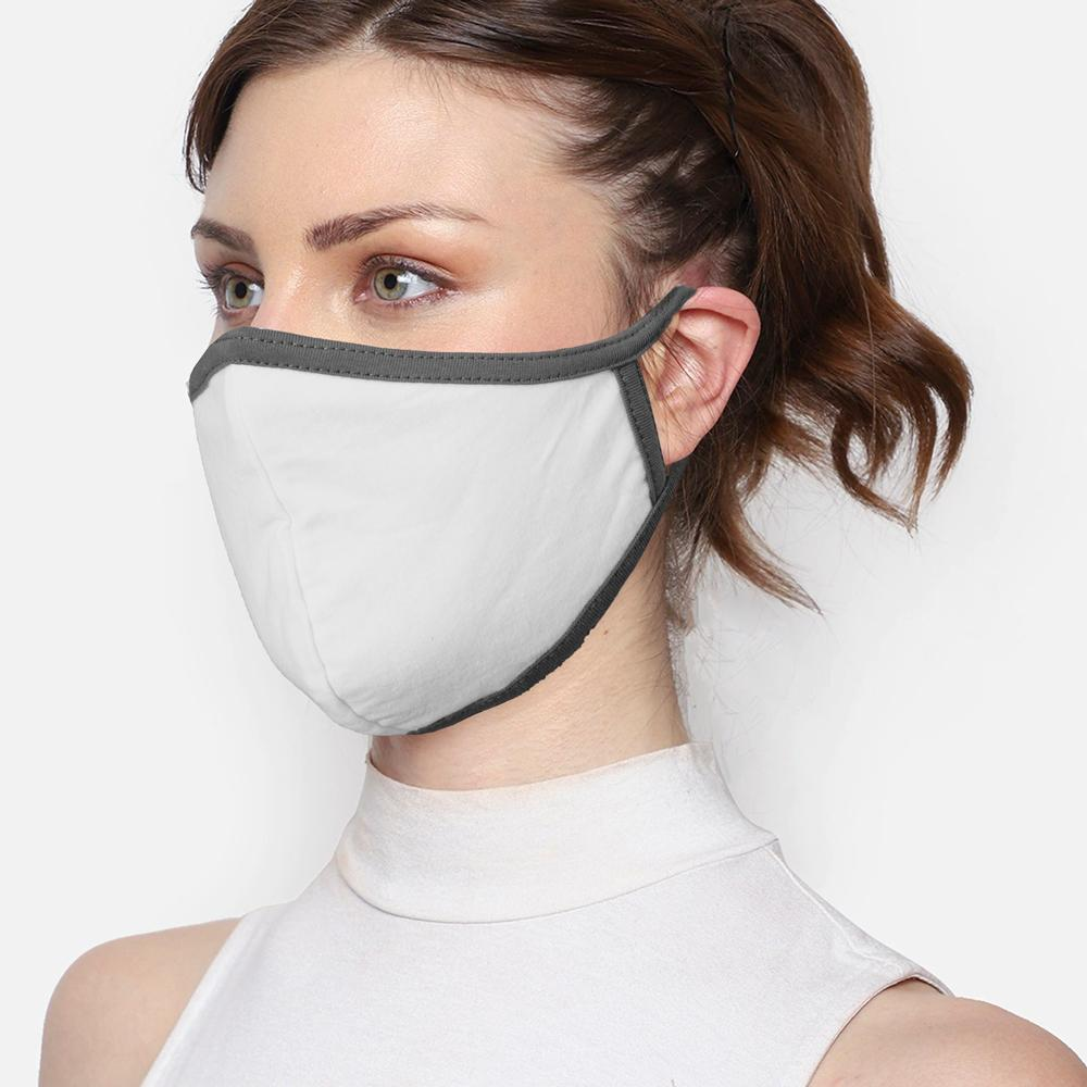 Unisex Dust Repellent Mittle Protective Fabric Mask Face Mask Image