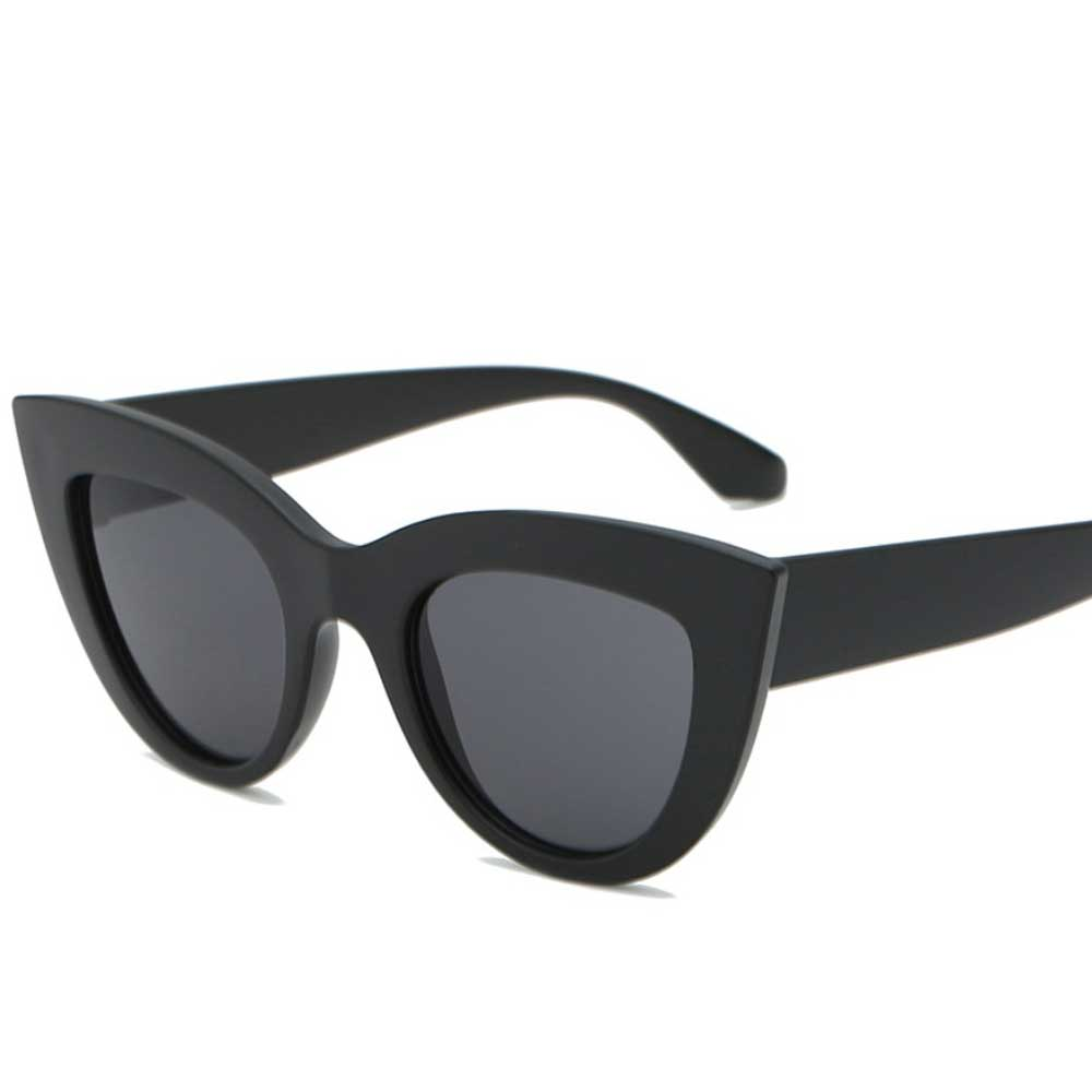 Women's Cross-Border Tinted Polarized Sunglasses Eyewear Sunshine China Black Black