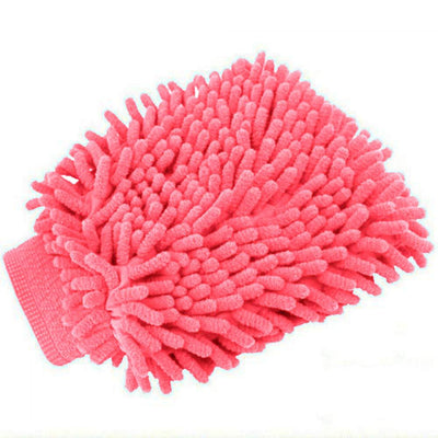 Chenille Cleaning Scrub Car Rag Glove General Accessories Sunshine China Baby Pink