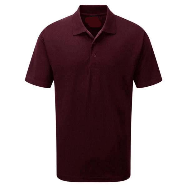 EGL Haslev Short Sleeves Minor Fault Polo Shirt Minor Fault Image Burgundy 4XL