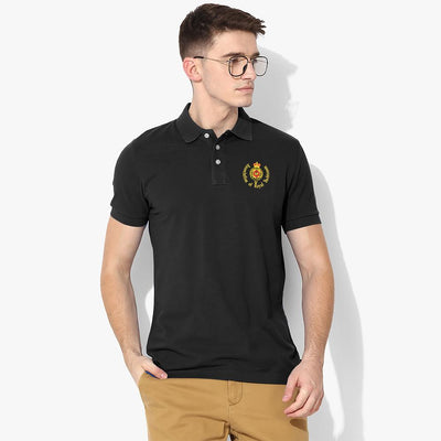 Polo Republica Royal Yachtsmen Polo Shirt Men's Polo Shirt Polo Republica Black Black S