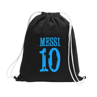Polo Republica Messi Lovers Drawstring Bag Drawstring Bag Polo Republica Black Blue