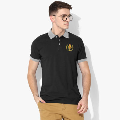Polo Republica Royal Yachtsmen Polo Shirt Men's Polo Shirt Polo Republica Black Heather Grey S