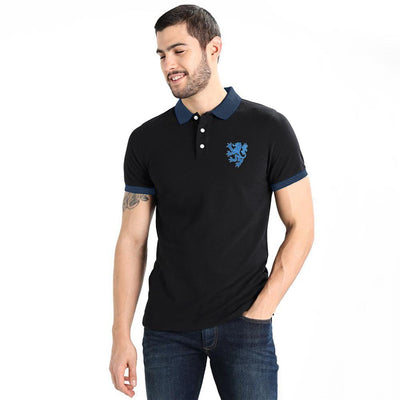 Polo Republica Leo Polo Shirt Men's Polo Shirt Polo Republica Black Navy S
