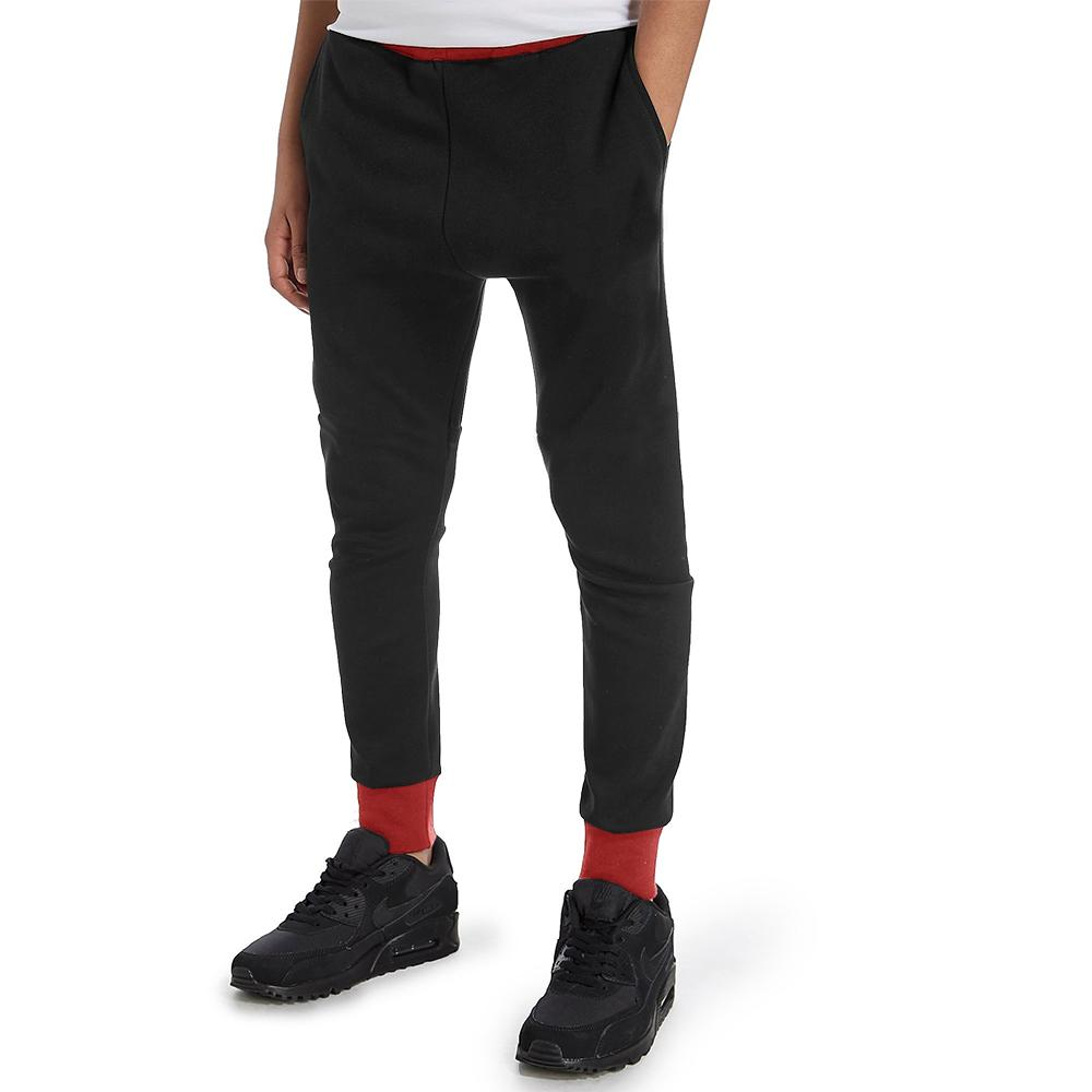 Polo Republica Kids Dosber Classic Sweat Pants Boy's Sweat Pants Polo Republica Black Red 13 Years