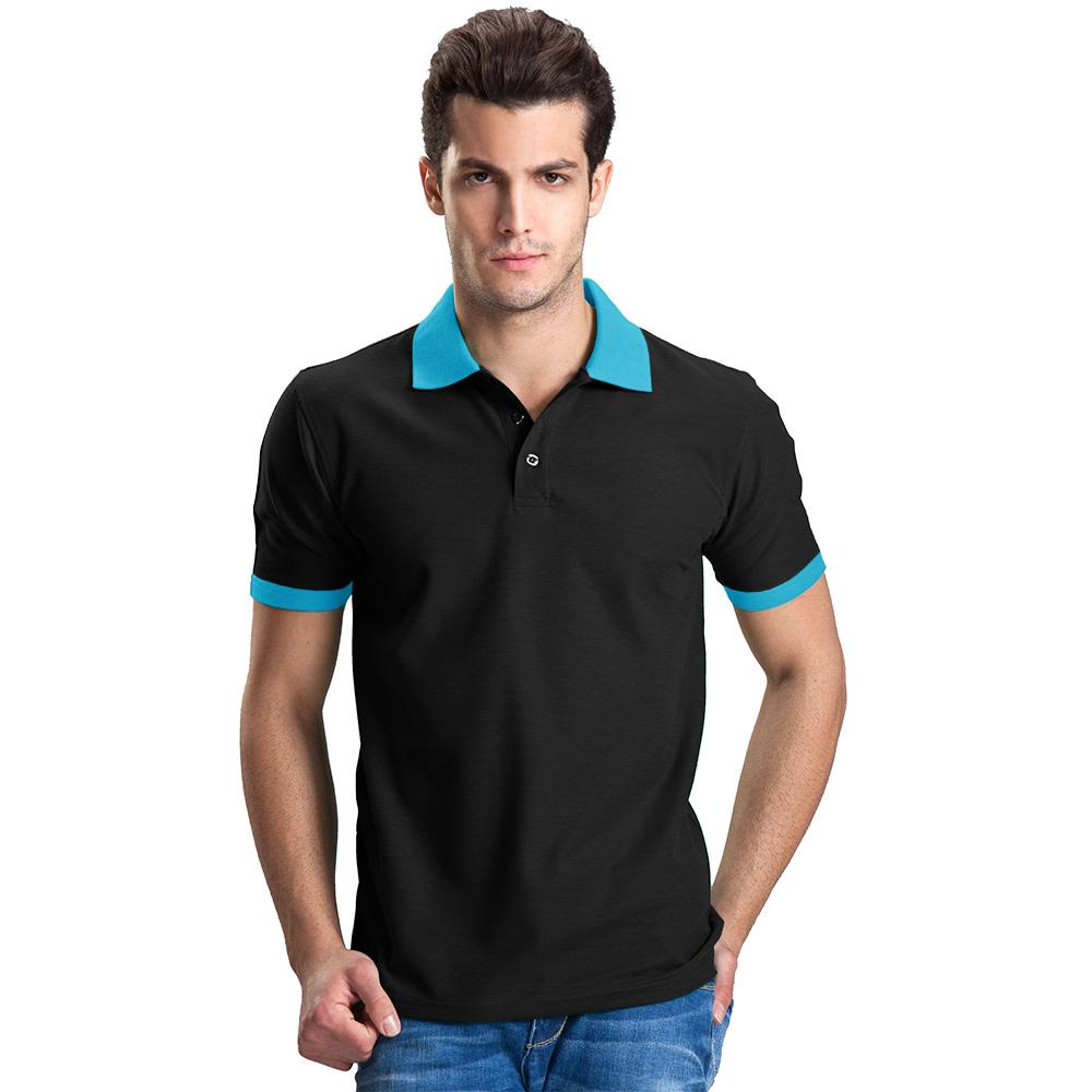 Polo Republica Lausannois Polo Shirt Men's Polo Shirt Polo Republica Black Sky S