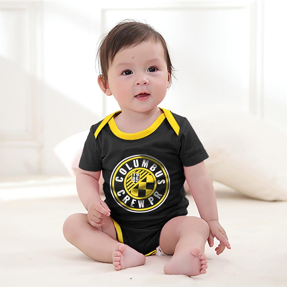 Polo Republica Columbus Crew Baby Romper Babywear Polo Republica Black Yellow 0-3 Months