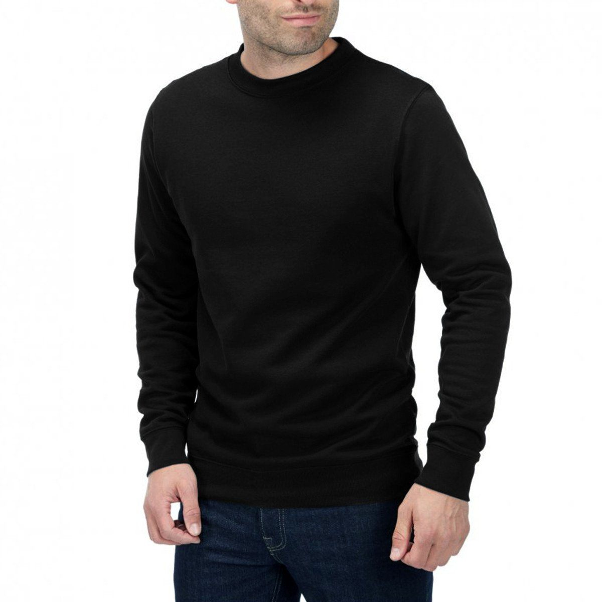 Ten Rotwin Long Sleeve Sweat Shirt Men's Sweat Shirt Ten Black S