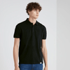 BRTE Men's Classic Polo Shirt Men's Polo Shirt Image Black XXS