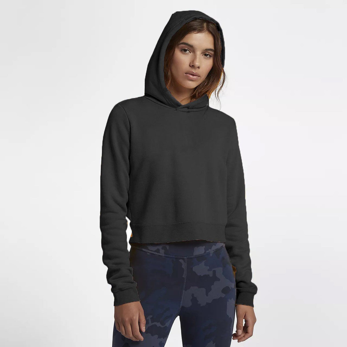 Tally Weijl Women's Minor Fault Fleece Cropped Hoodie Minor Fault SRK Black 2XS