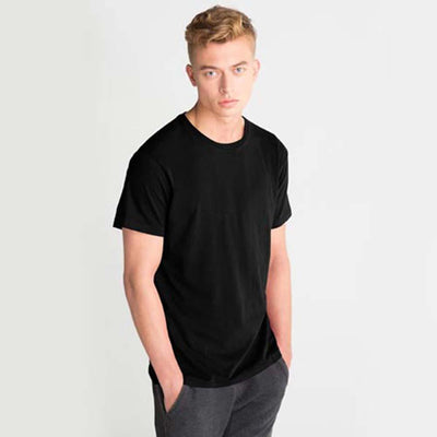 LE Foldpal Short Sleeve Tee Shirt Men's Tee Shirt Image Black M