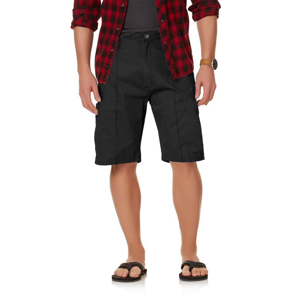 Tuffstich Men's Colorado Cargo Shorts Men's Shorts Image Black 28 23