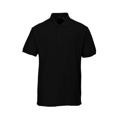 PRT Vonboni Short Sleeve Polo Shirt Men's Polo Shirt Image Black XS