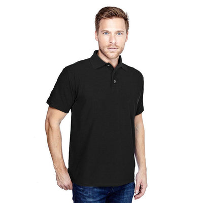 DCK Zeelami Short Sleeve Polo Shirt Men's Polo Shirt Image Black M
