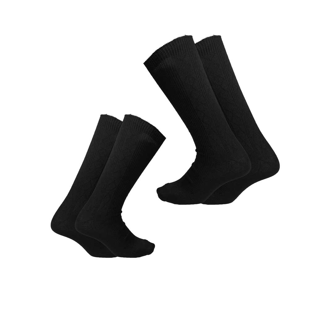 RKI Men's Vellus Terry Socks Pack of 2 Socks RKI