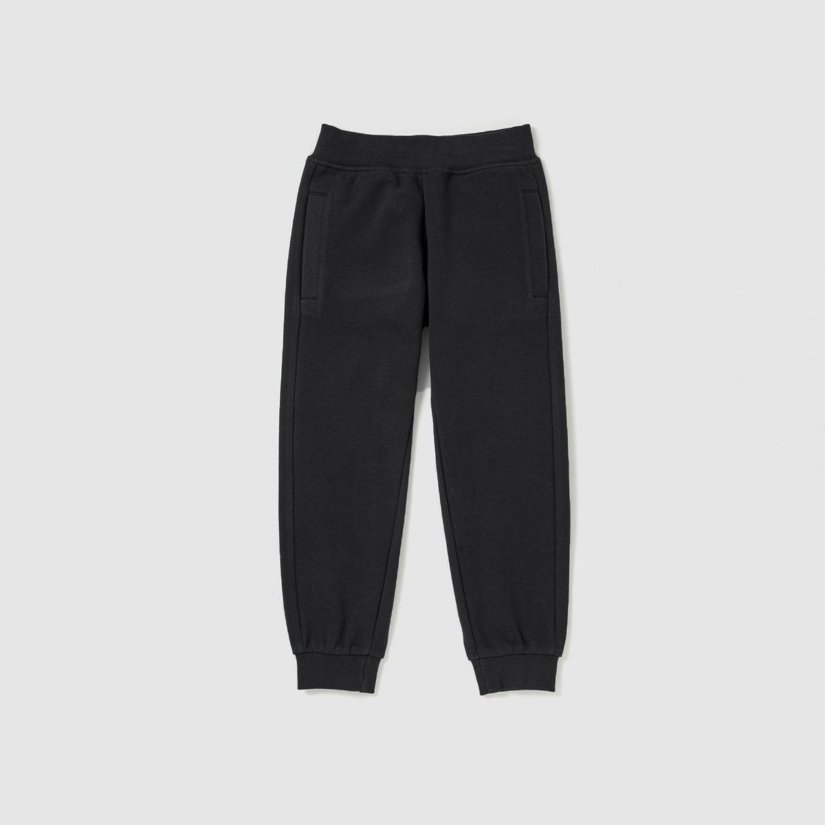 KC Kid's 19-20A20 Terry Jogger Pants Boy's Trousers SRK Black 1/2 Years