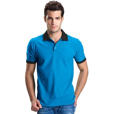 Polo Republica Abrud Polo Shirt Men's Polo Shirt Polo Republica Blue Black S