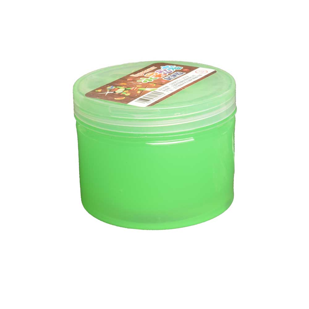 Cute Kids Fruit Salad Fimo Putty Slime Box Toy Sunshine China Green