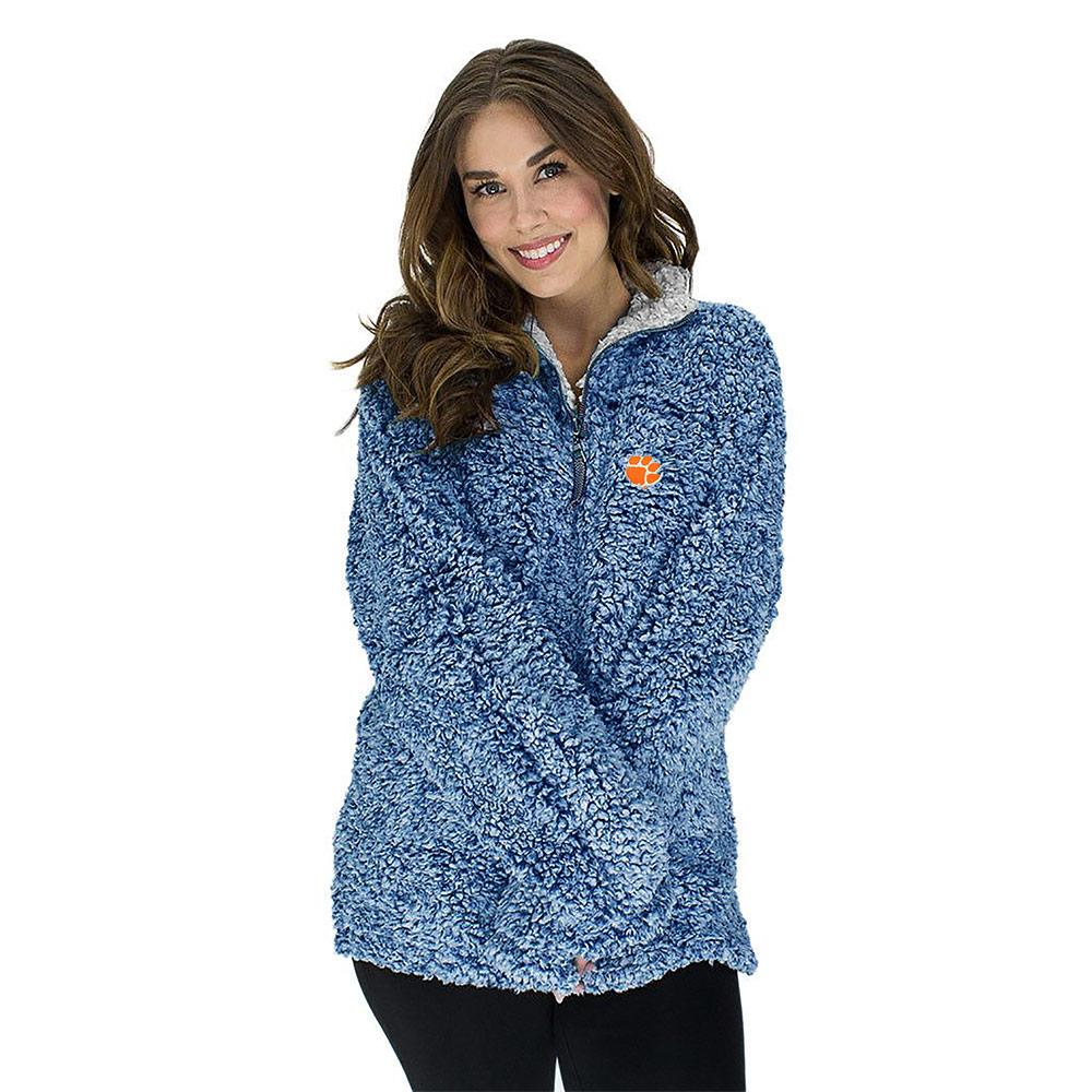 Three Square Women's Sherpa Super Soft Quarter Zip Poodle Jacket
