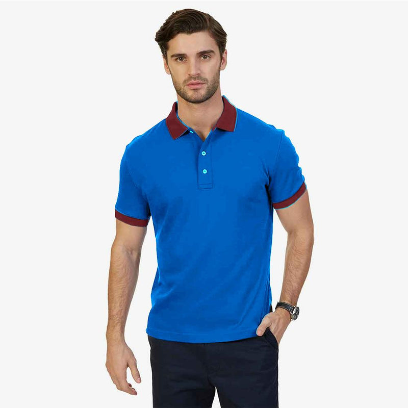 Polo Republica Dirumpt Short Sleeve Polo Shirt Men's Polo Shirt Polo Republica Black Royal XS
