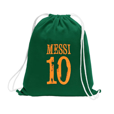 Polo Republica Messi Lovers Drawstring Bag Drawstring Bag Polo Republica Bottle Green Orange