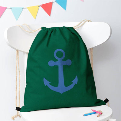 Polo Republica Ship Langar Drawstring Bag Drawstring Bag Polo Republica Bottle Green