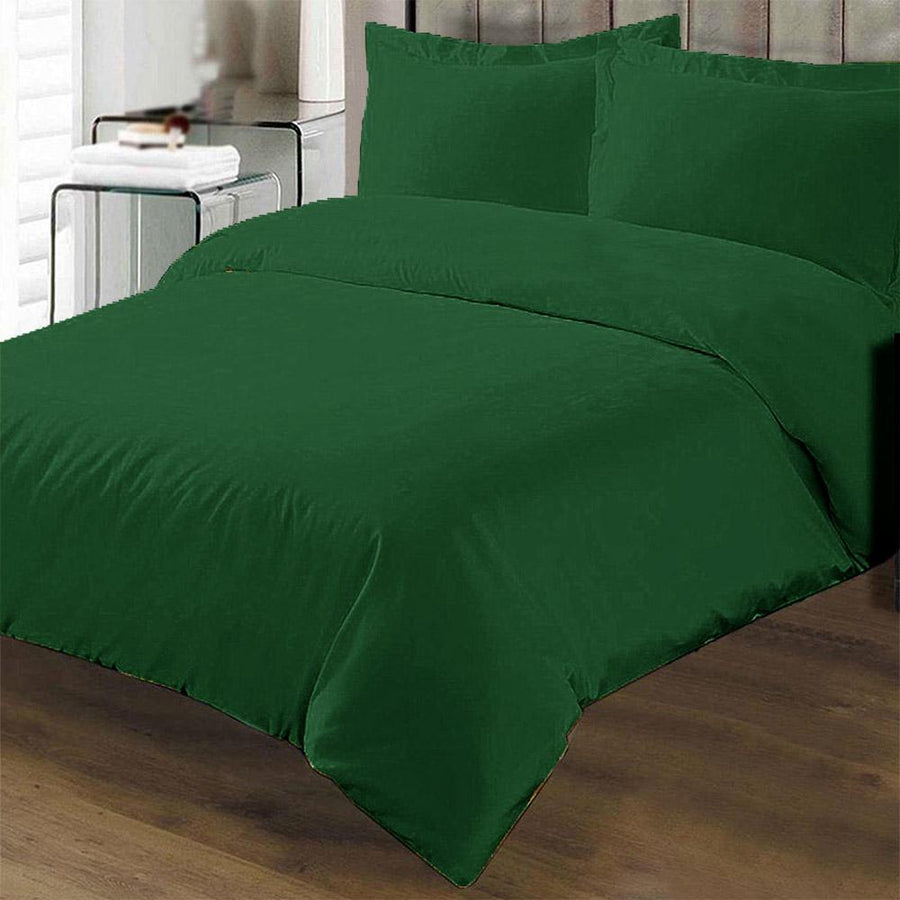Polo Republica Plain Double Bed Sheet Set