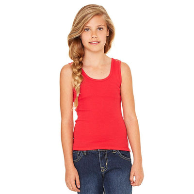 Ryazan Power Flex Girl's Tank Top Women's Tee Shirt MHJ Brick Red 12-16 Years